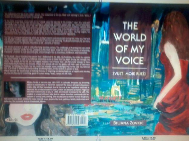 THE WORLD OF MY VOICE -poems and paintings